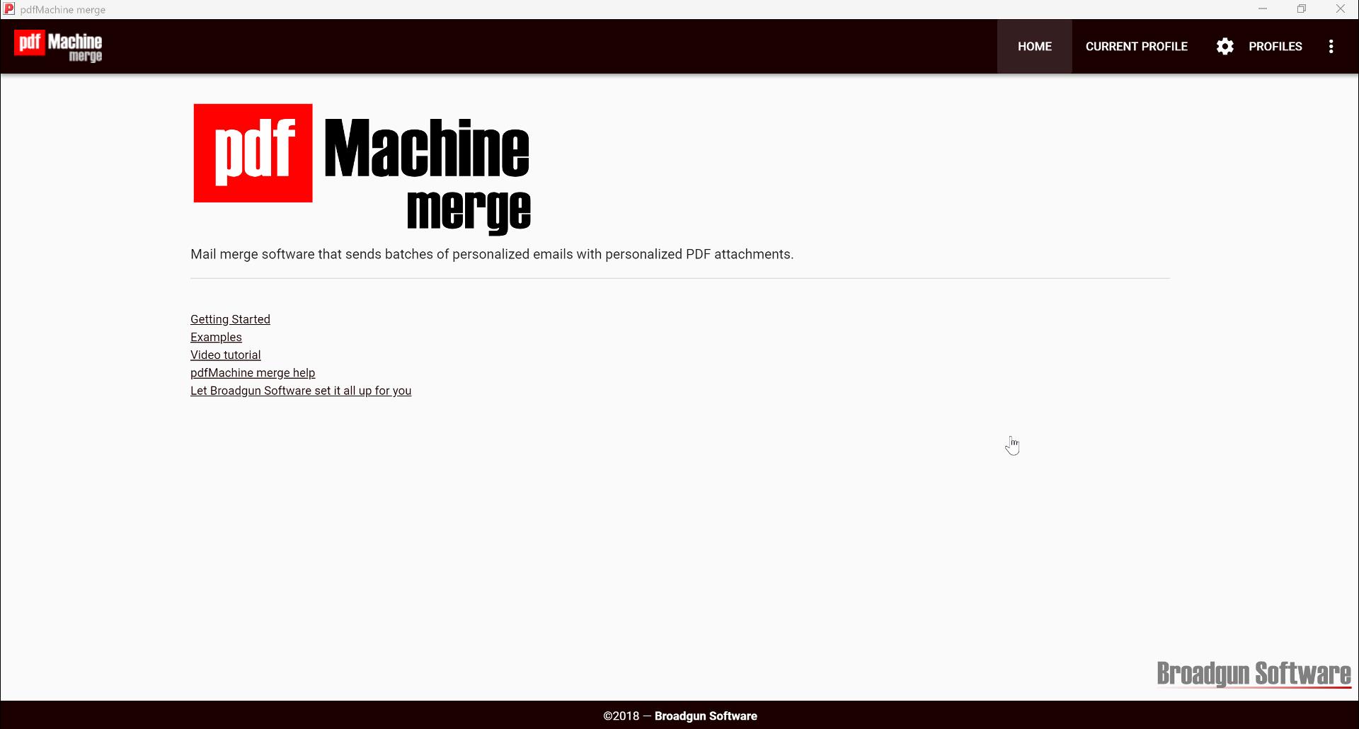 pdfMachine merge